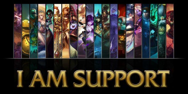 League of Legends SUPP