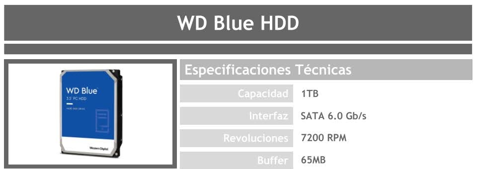 disco duro hdd para pc gamer barato wd blue 1tb