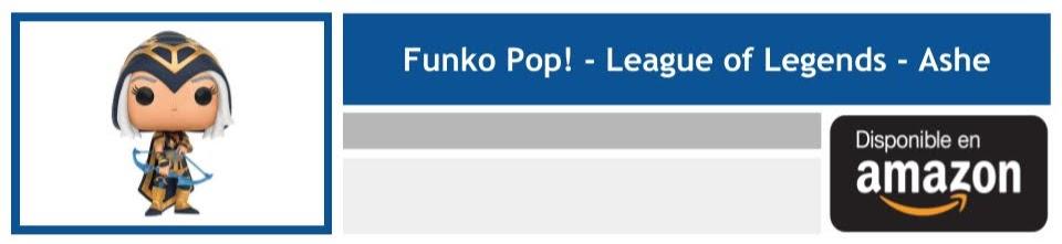 regalar funko league of legends ashe