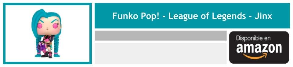 regalar funko league of legends jinx