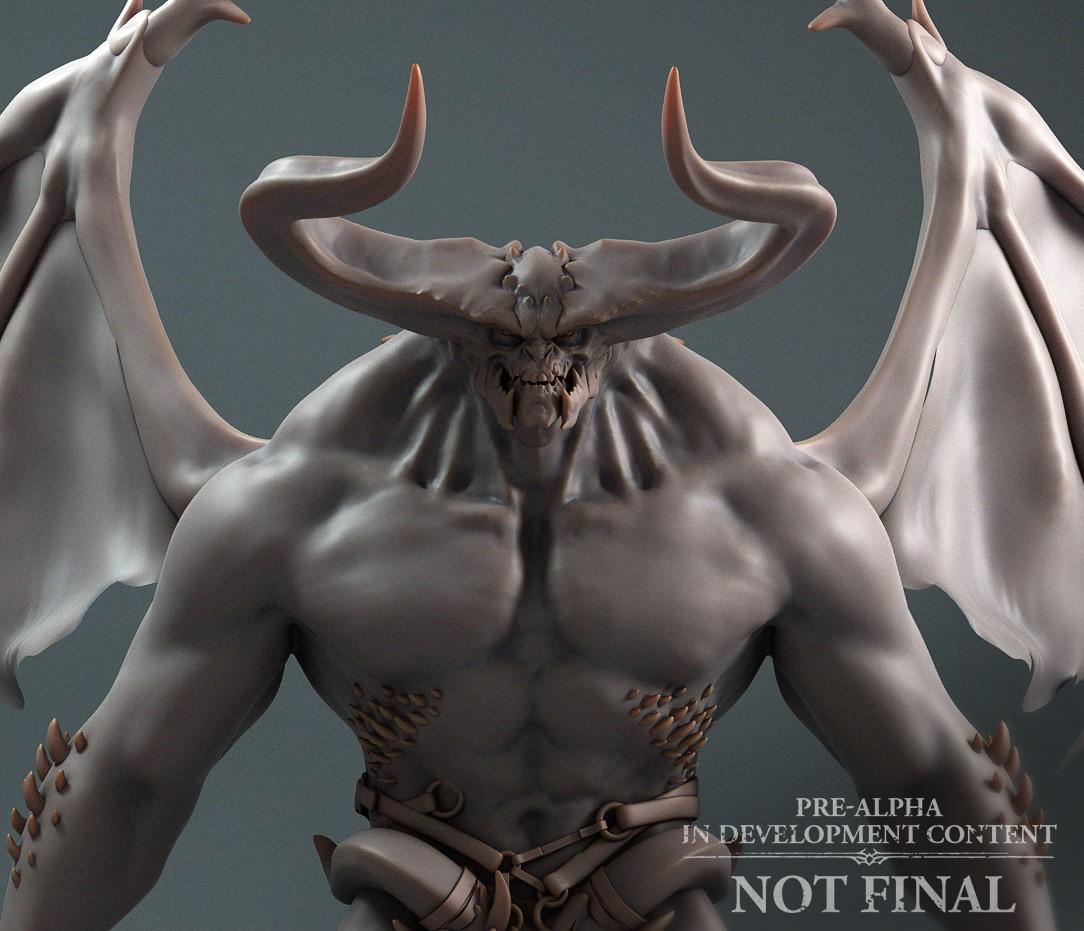 Demonio basico Esboso Diablo IV