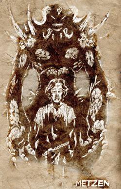 El príncipe Albrecht poseído por Diablo