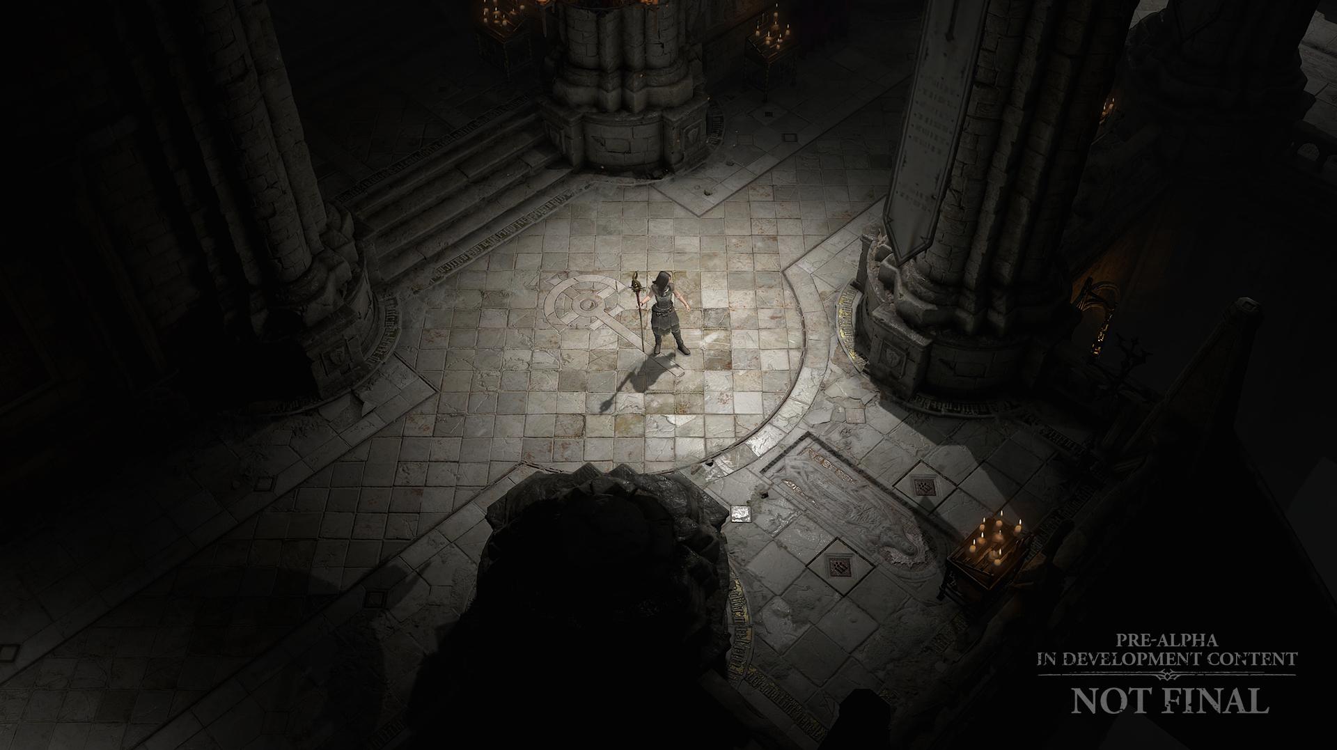 Los «esbozos» Diablo IV