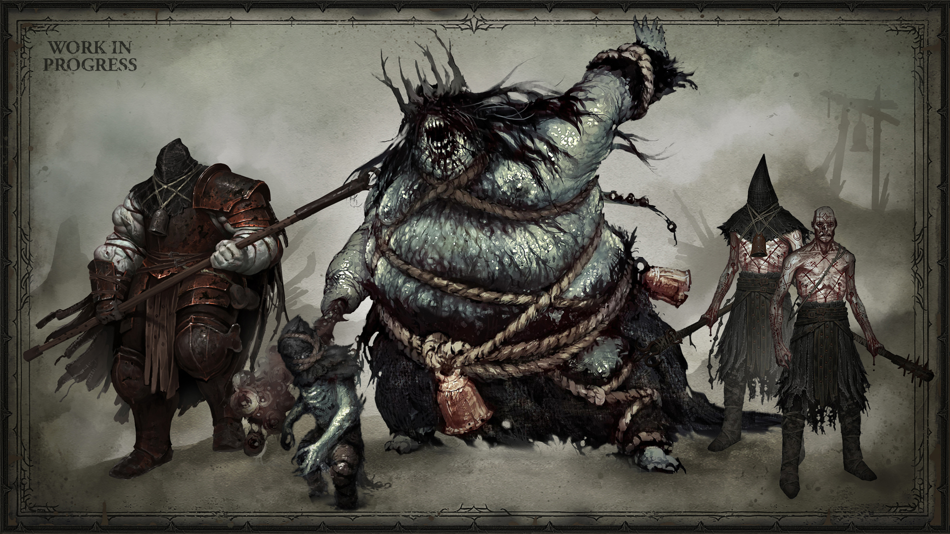 Miembros de la familia de los ahogados en Diablo IV