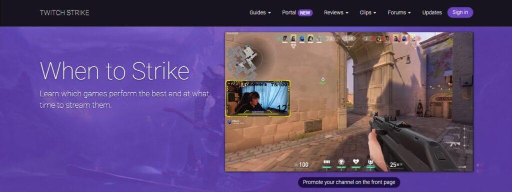 Twitch Strike herramienta para Twitch