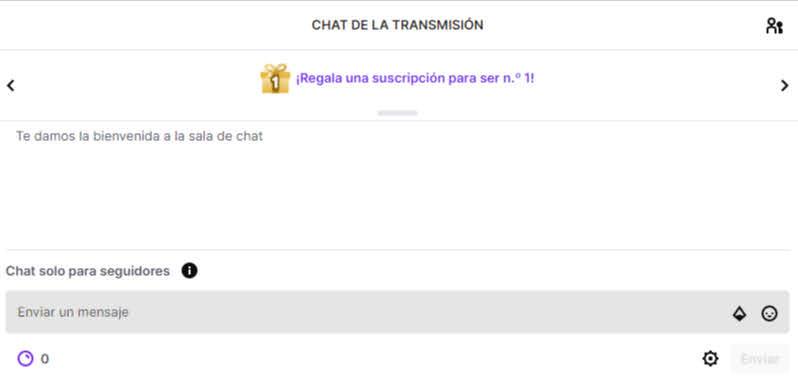 conseguir mas seguidores interactuando con el chat de twitch