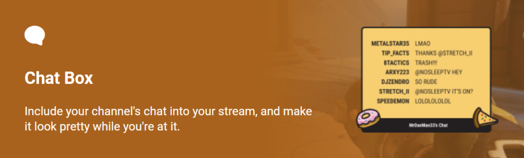 como configurar chat box streamlabs obs