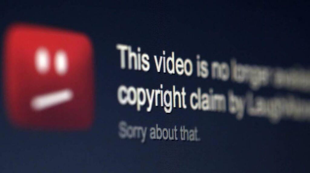 como funciona el copyright en youtube