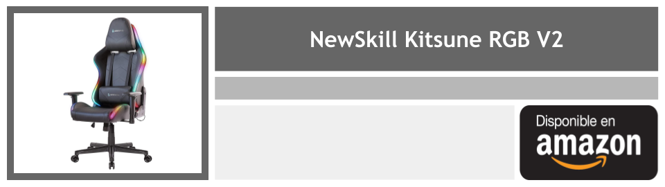 silla gaming newskill kitsune rgb v2