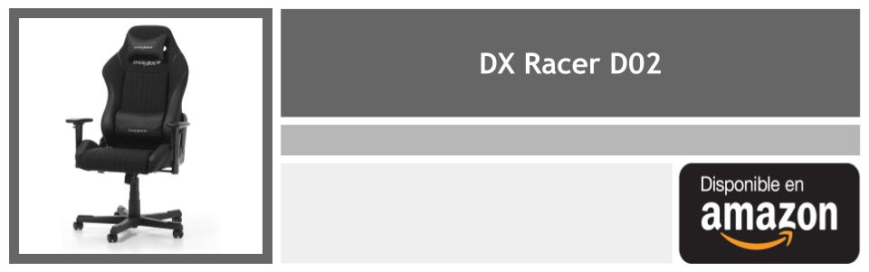dx racer d02 la silla de auronplay