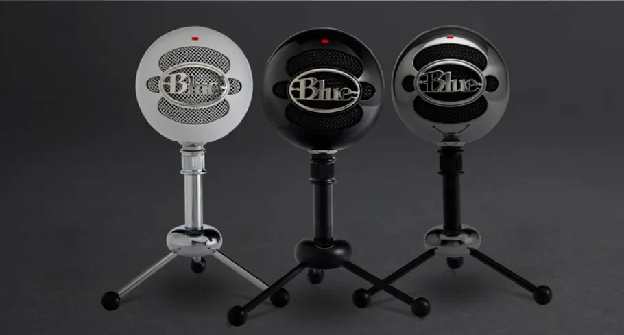 microfono blue snowball ice youtubers streamers