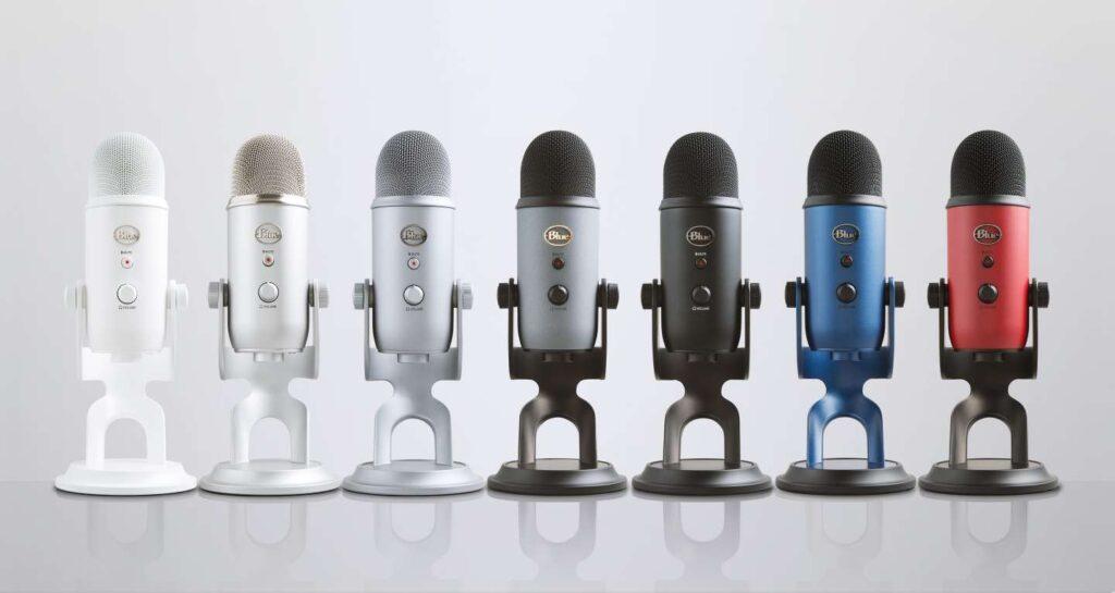 microfono blue yeti youtubers streamers