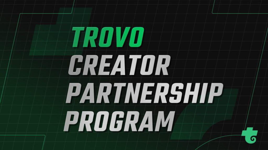 programa de socios trovo creator partnership program