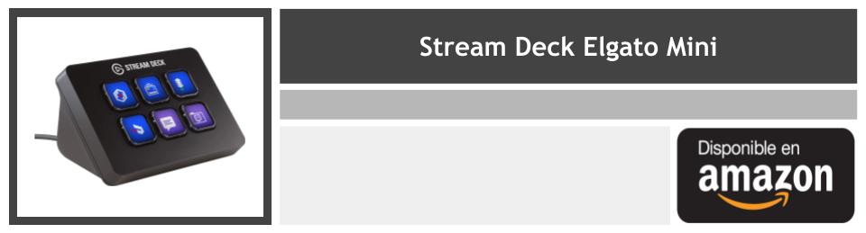 review stream deck elgato mini precio