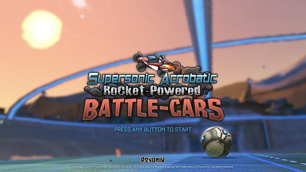 supersonic acrobatic rocket powered battle cars codigo rocket league