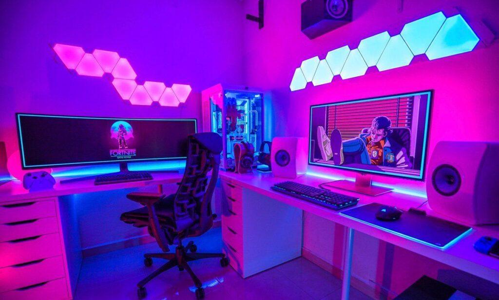 accesorios para habitaciones gamer