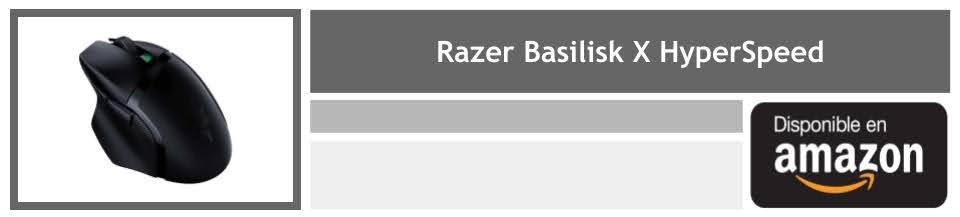 comprar raton gaming razer basilisk x hyperspeed
