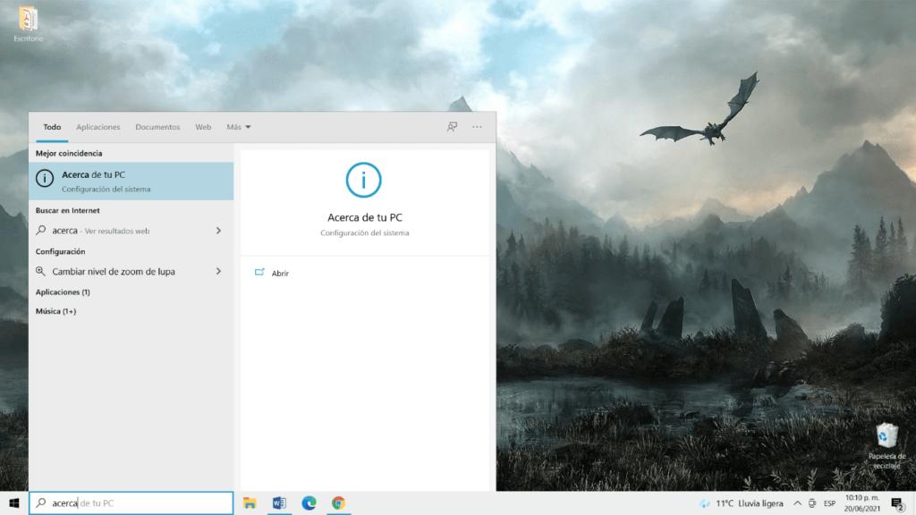 como saber cual es la version de windows que tiene mi pc