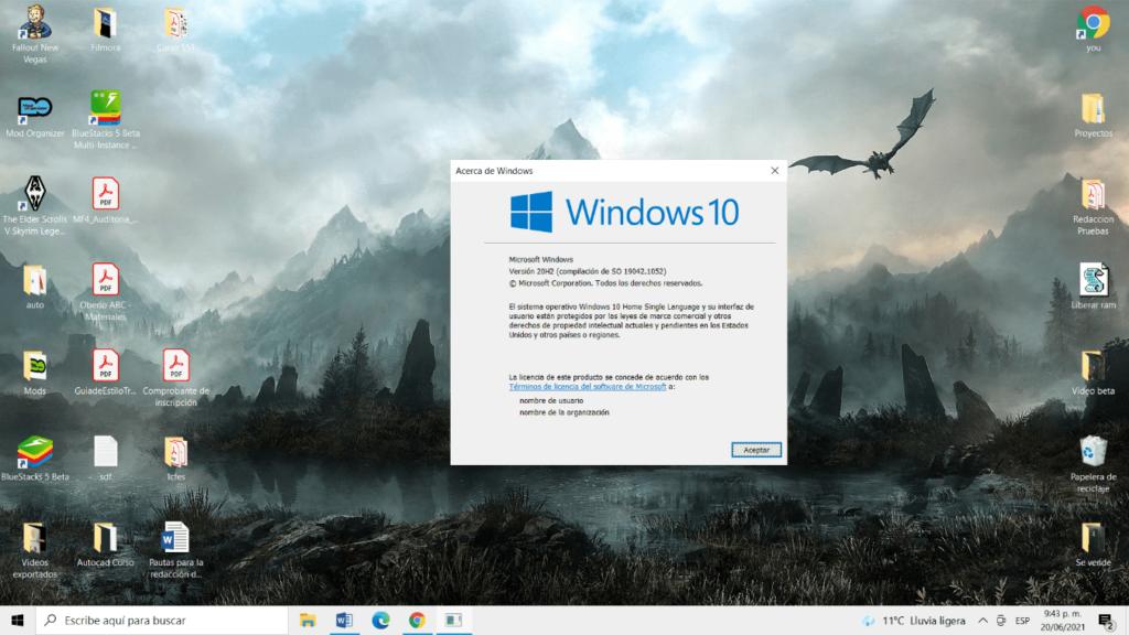 como saber que version de windows tengo