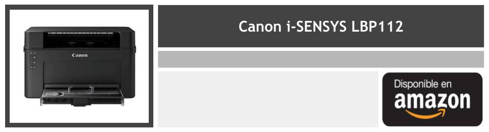 comprar impresora laser Canon i-SENSYS LBP112