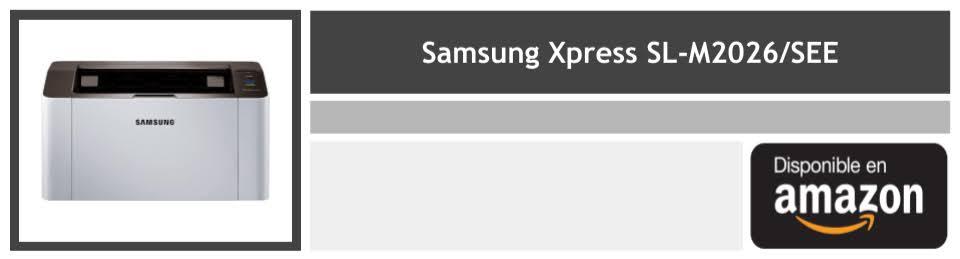 comprar impresora laser Samsung Xpress SL-M2026 see