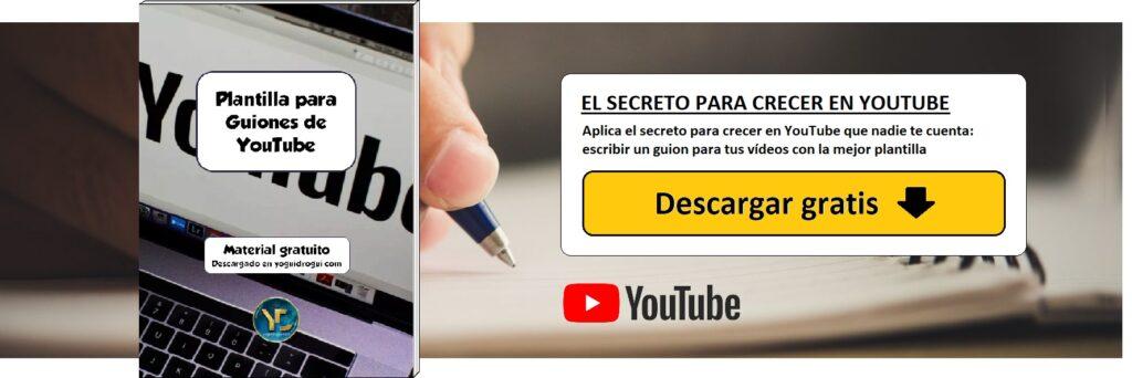 descargar guion para videos youtube yoguidrogui