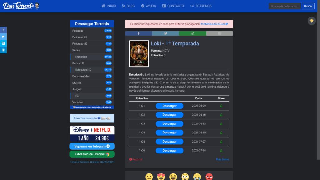 alternativas a dontorrent para descargar torrent gratis