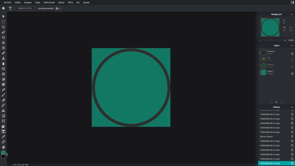 como crear un logo para tu canal de youtube en pc online