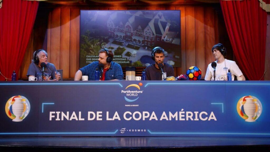 ibai en la final de la copa america brasil 2021 en twitch