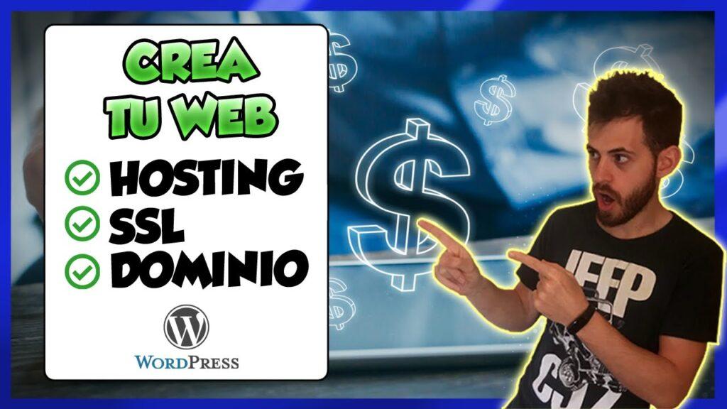 HOSTING con SSL y DOMINIO para WordPress 2021 [SIN PUBLICIDAD] usando HOSTINGER 🚀