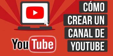 como crear un canal de youtube desde pc