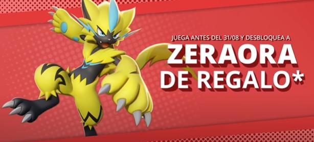 zeraora pokemon united